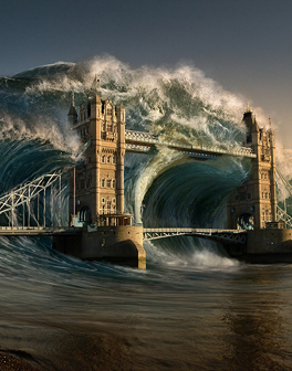 Create a Devastating Tidal Wave in Photoshop – Tutorial – Syrup